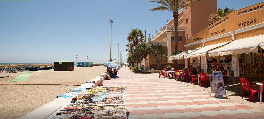 Ubicacion hotel Playasol Roquetas de Mar Almeria
