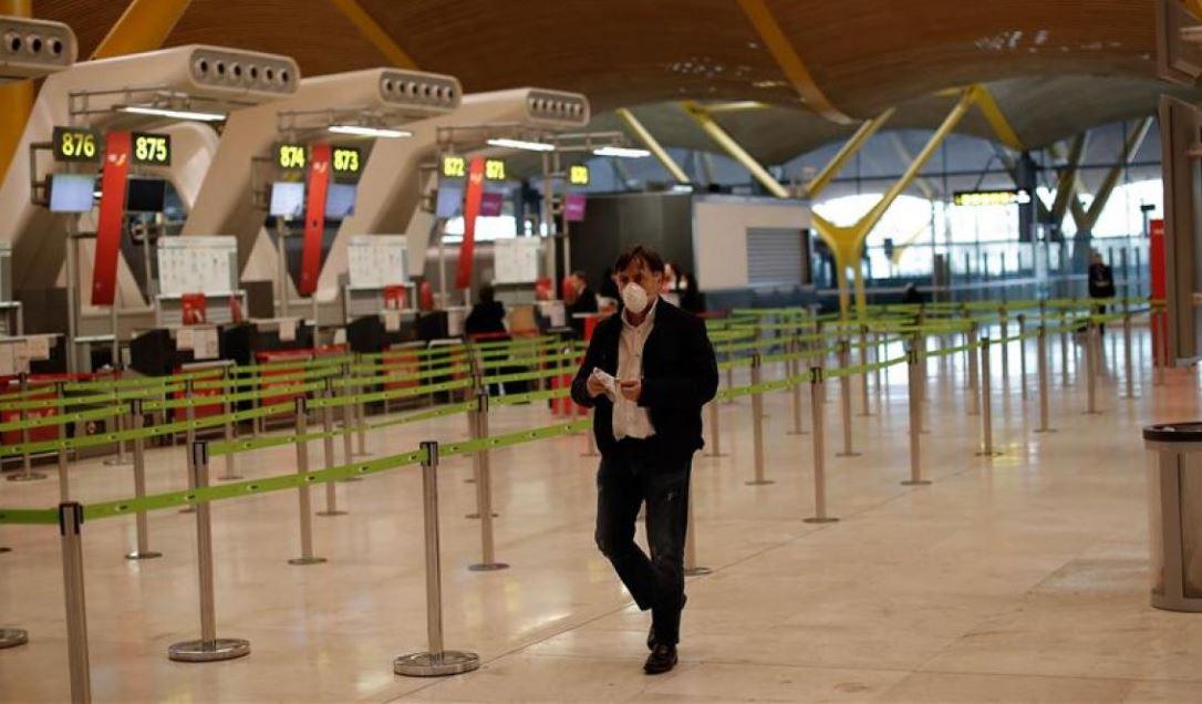 aeropuertos vacios y vuelos cancelados en españa blog noticias de turismo B2Bviajes