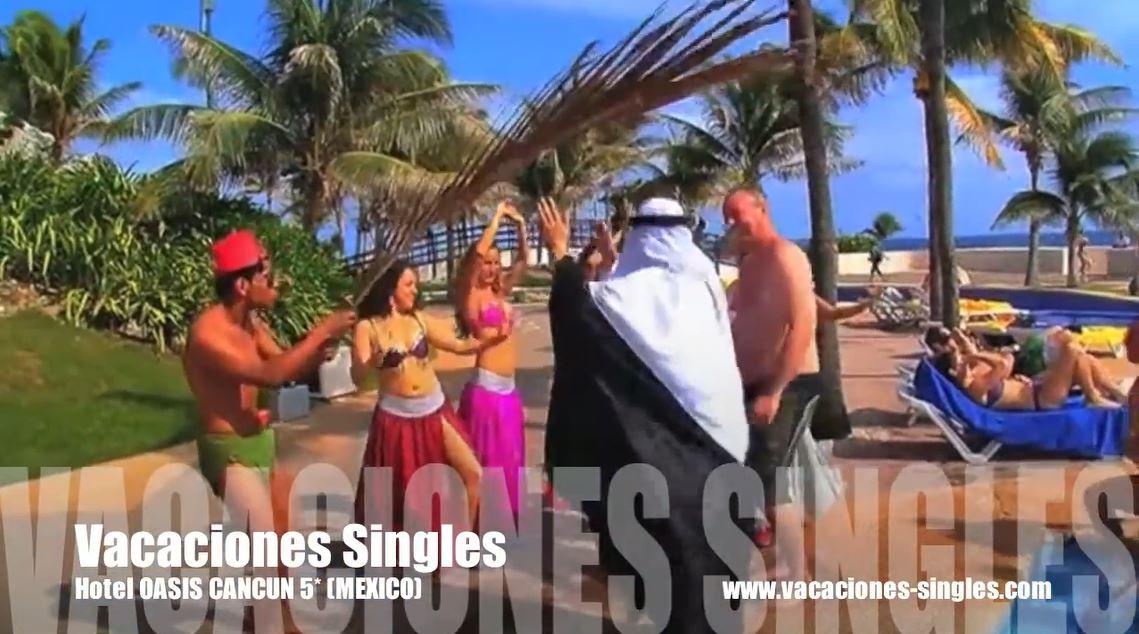 Animacion del hotel Grand Oasis Cancun Ofertas B2B viajes todo incluido Riviera Maya