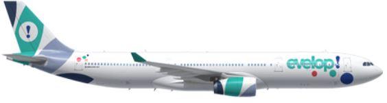 avion evelop viajes a punta cana