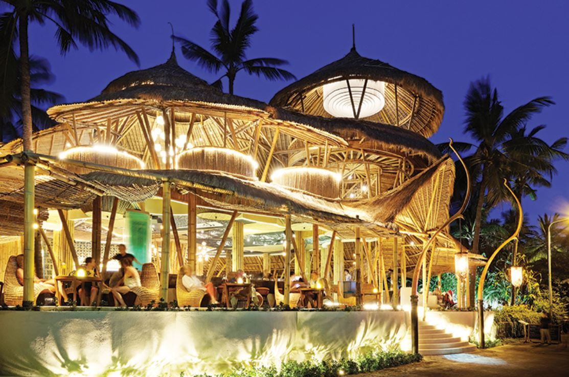 Azul Beach Club Bali salir de noche