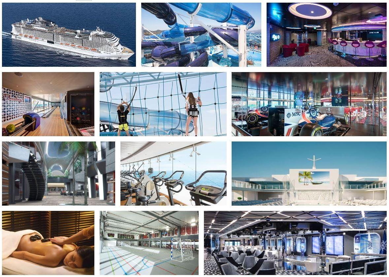 Msc Grandiosa ofertas Cruceros para solteros vacaciones singles