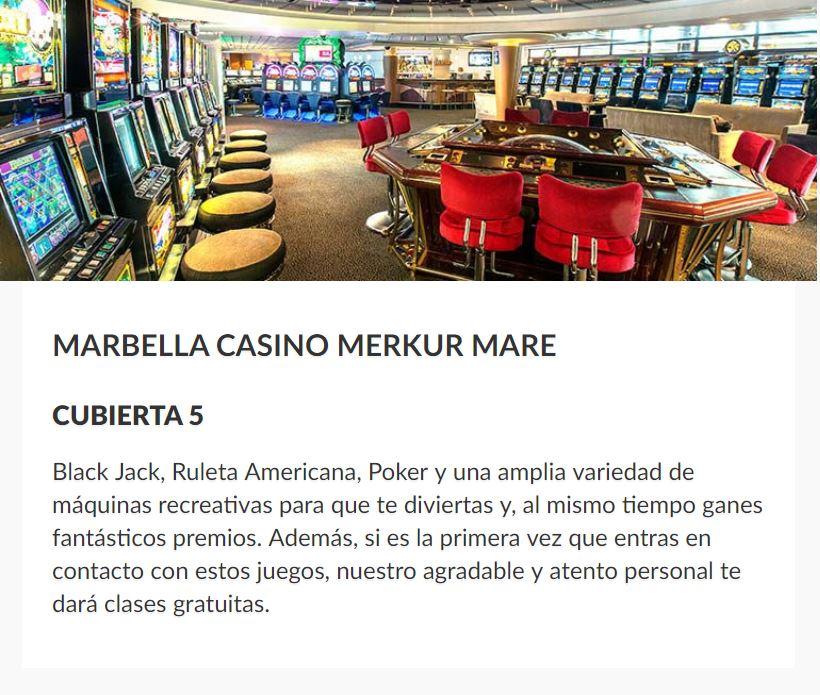 Casino Barco Sovereign Pullmantur