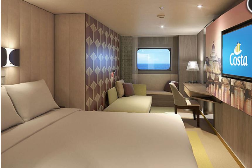Camarote Exterior Barco Costa Esmeralda Costa Cruceros