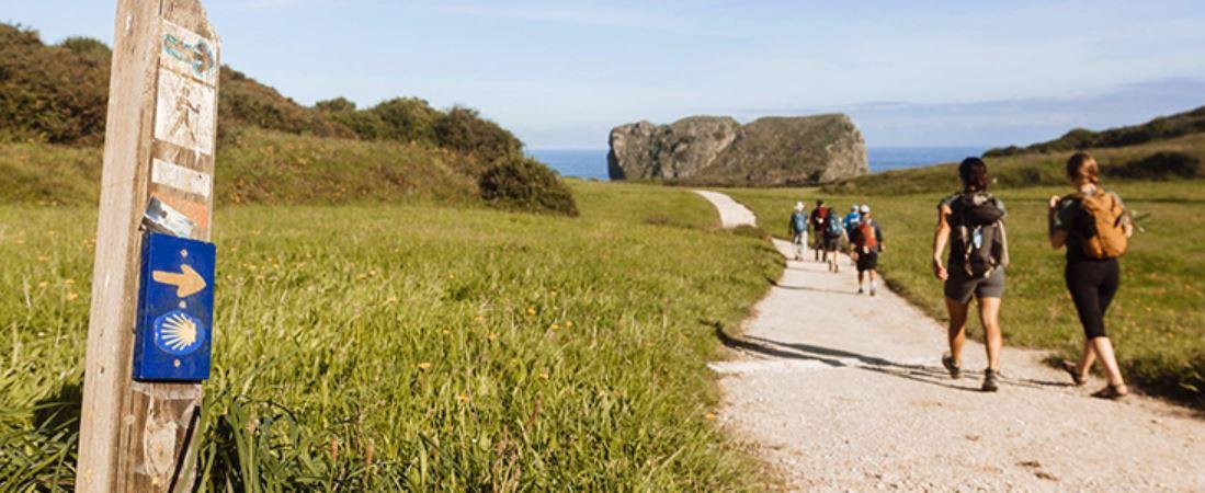 Camino de santiago en grupo Vacaciones Singles