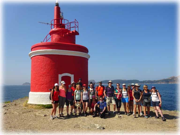grupo de senderismo en islas cies viajes singles