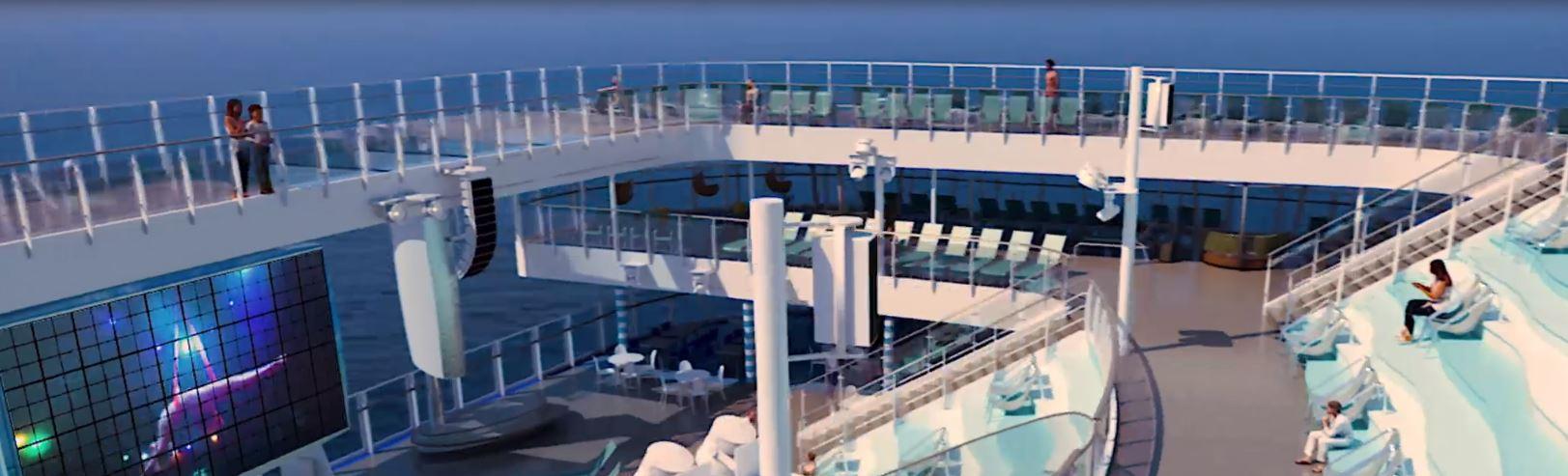Barco Costa Esmeralda de la naviera Costa Cruceros en B2BViajes