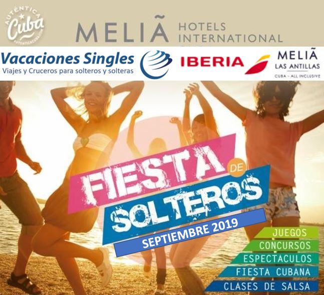 Cuba Fiesta de Solteros 2019 Vacaciones Singles