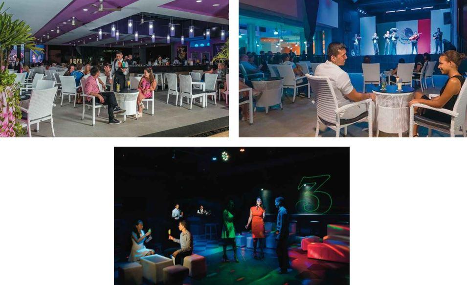 Animación espectáculos y entretenimiento en Hotel Riu Lupita Riviera Maya