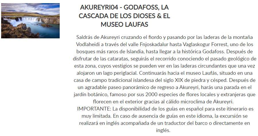 GODAFOSS, LA CASCADA DE LOS DIOSES & EL MUSEO LAUFAS