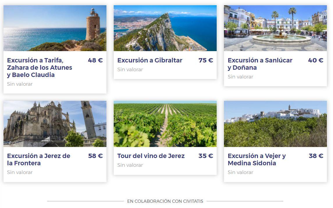 Excursiones desde Chiclana Vacaciones Singles con CIVITATIS