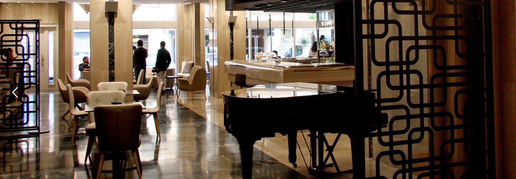 Hall Hotel Olid Valladolid