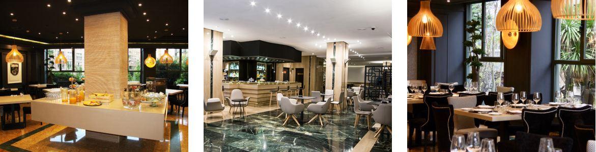 Instalaciones hotel Olid Valladolid