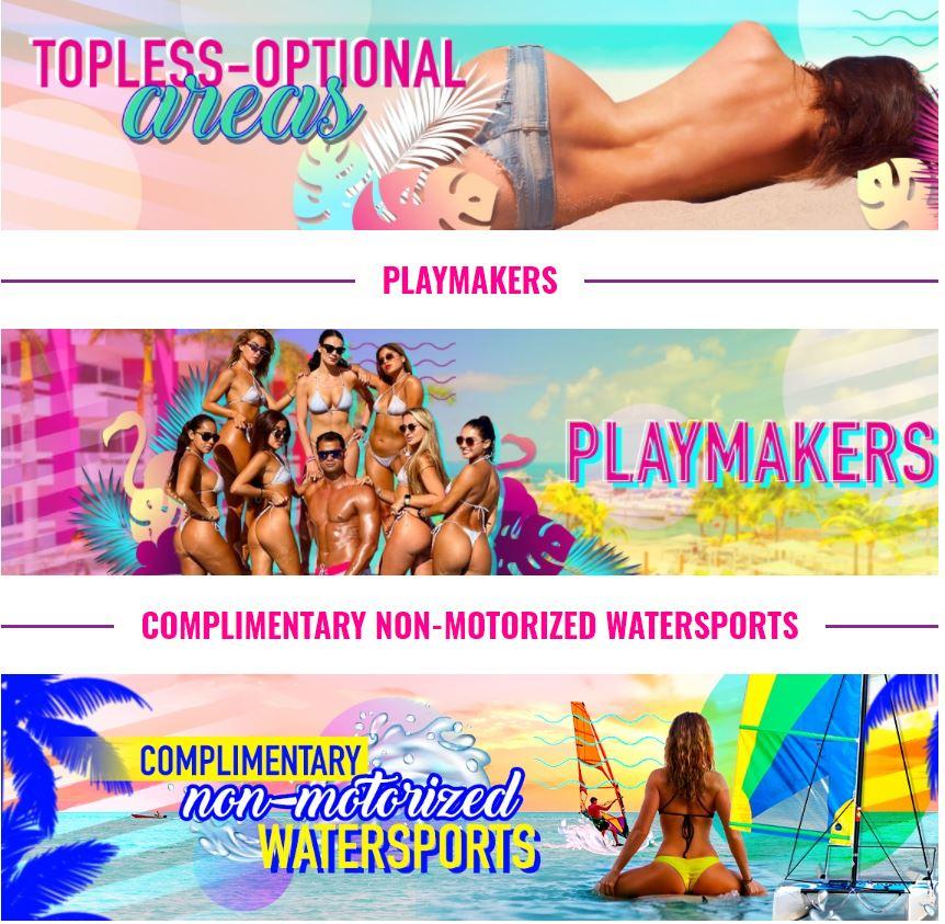 Fiestas animacion y actividades en Hotel Temptation Cancun Exclusivo Solo Adultos