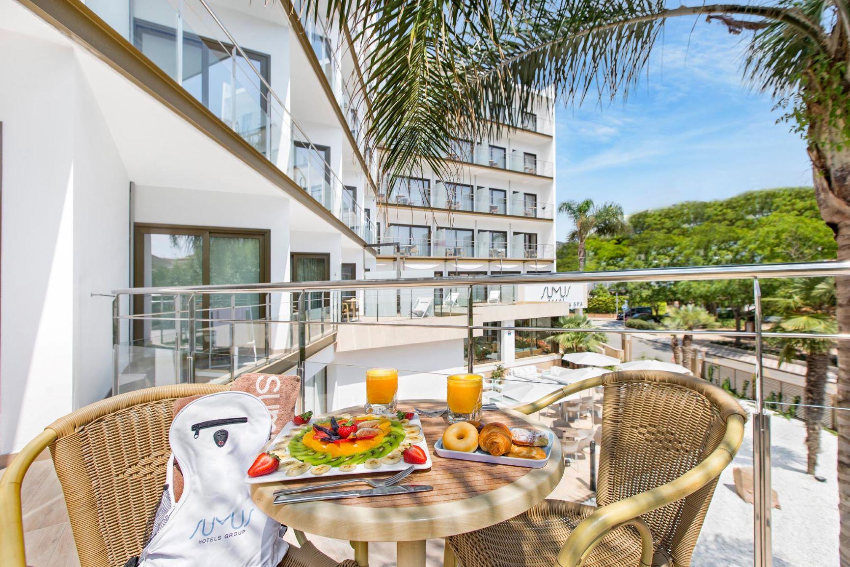 Terraza Habitacion Doble hoteles Stella & Spa B2B Viajes