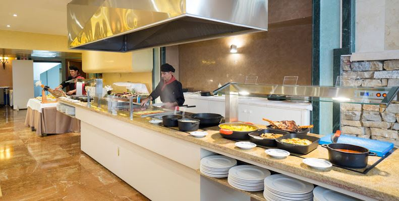 restaurante buffet hotel Aguamarina Torremolinos
