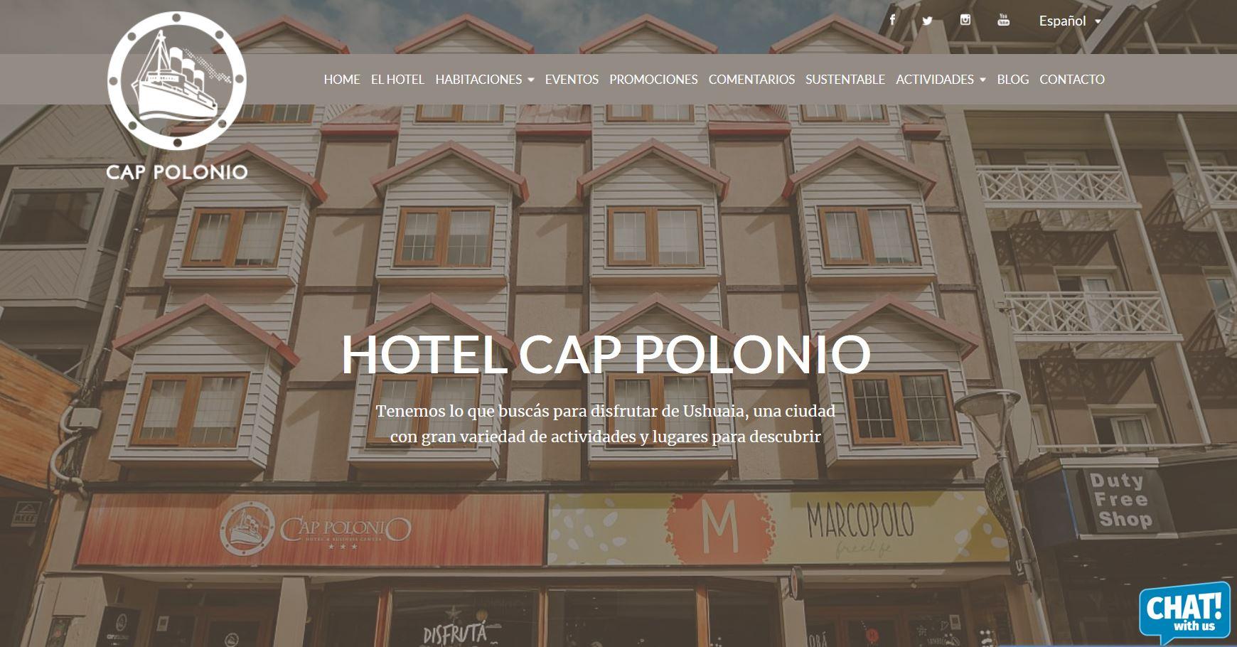Hotel Cap Polinio Ushuaia Argentina