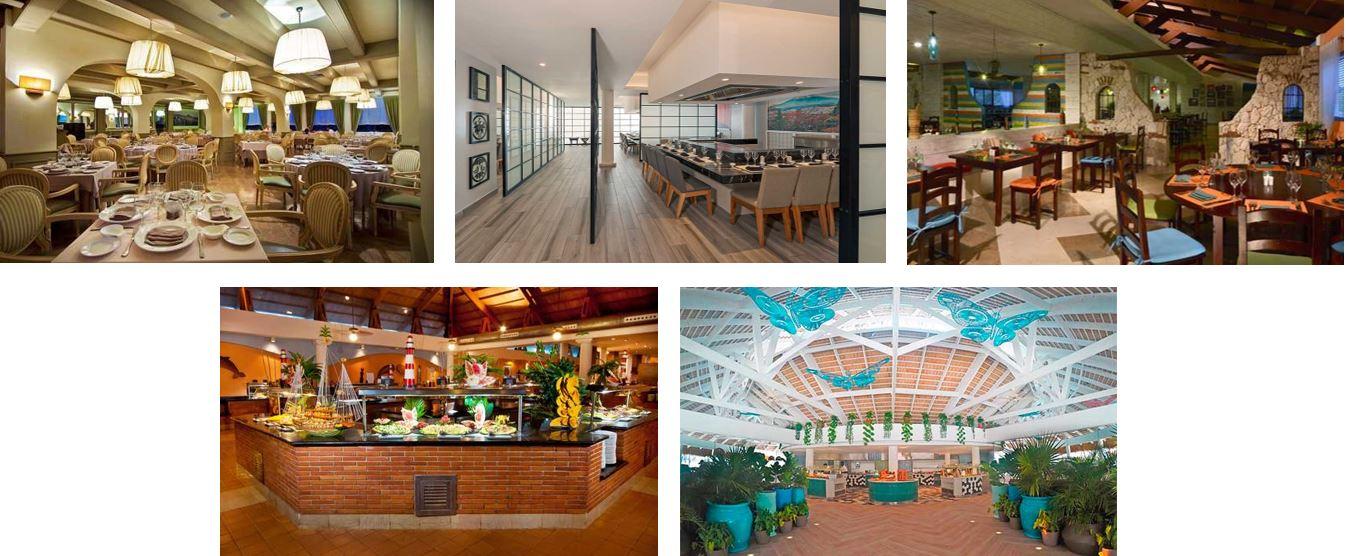 Restaurantes tematicos en el hotel Catalonia Bavaro Punta Cana Todo Incluido