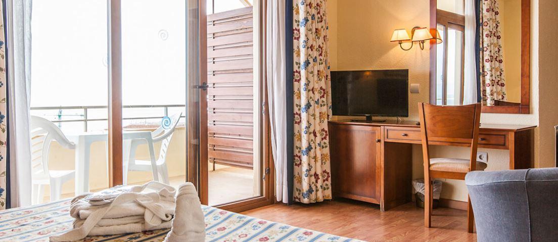 Habitaciçon del Hotel Cervantes Todo Incluido Oferta