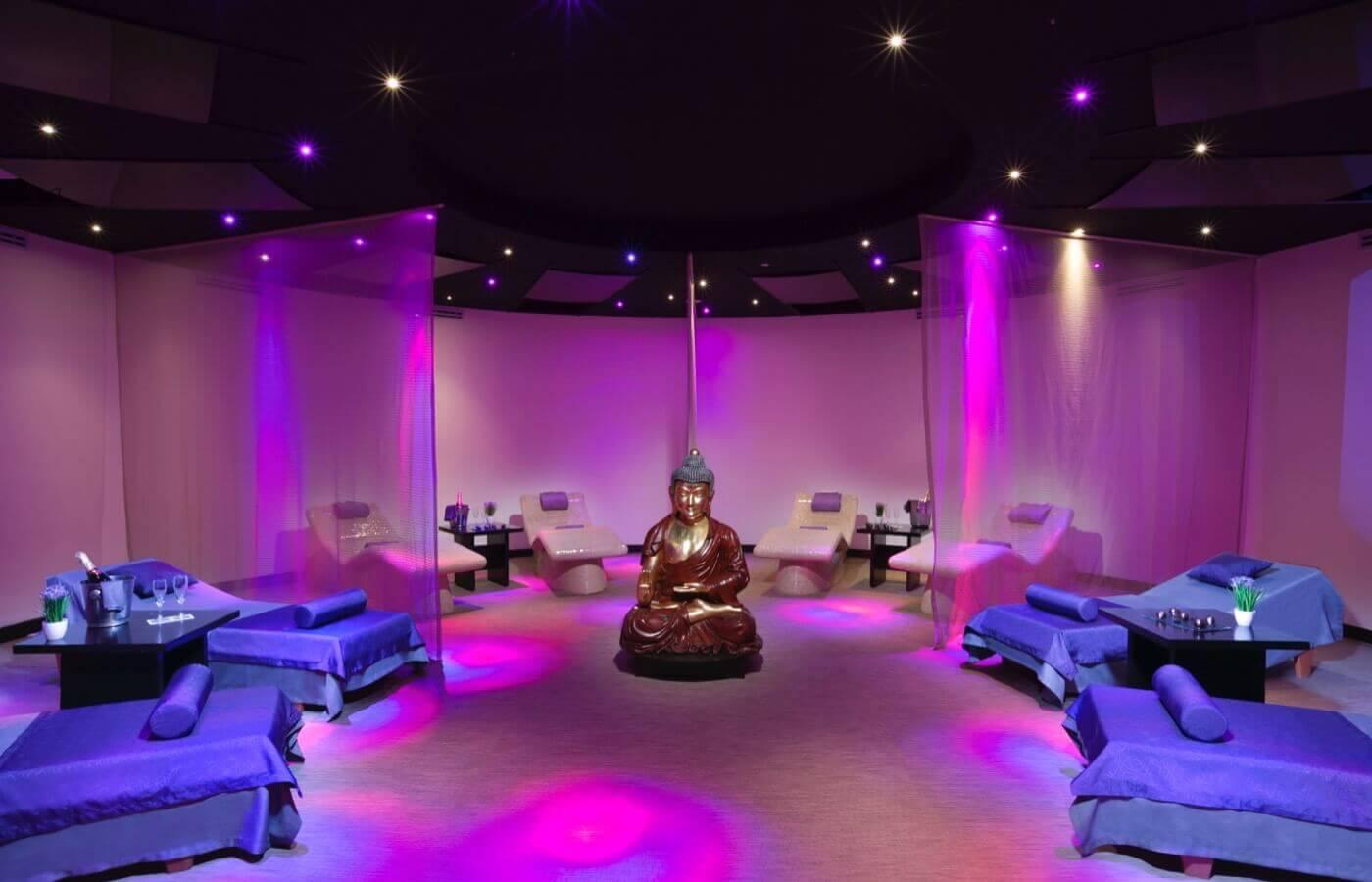 spa de lujo hotel grand oasis cancul servicio de masajes tratamientos de belleza