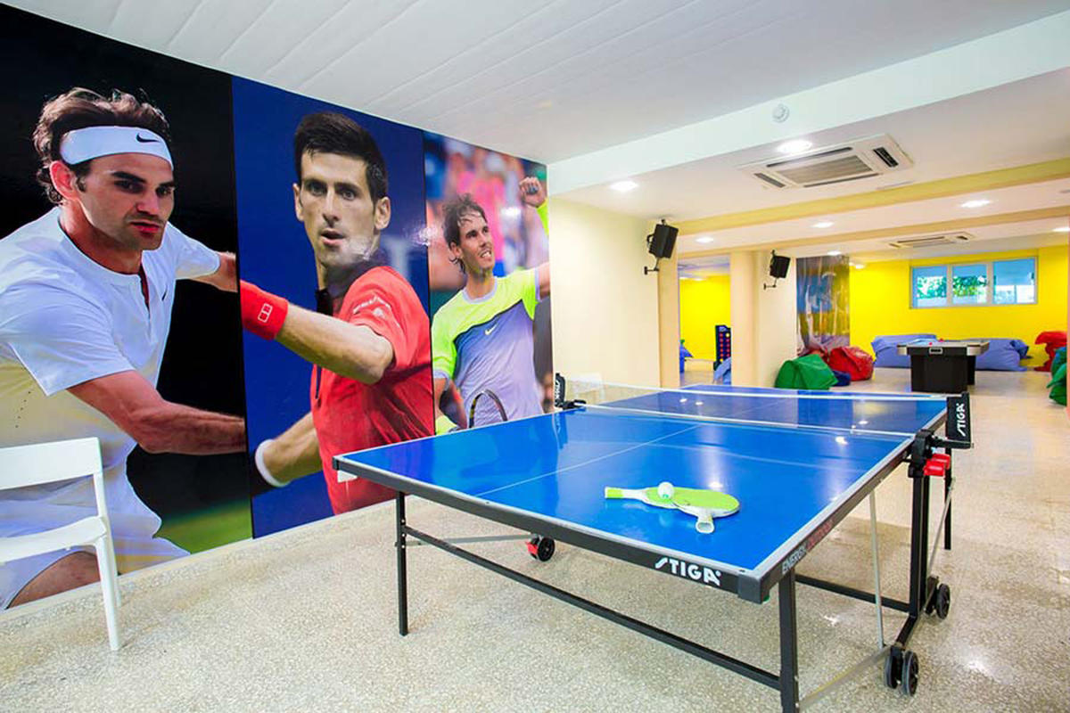 Hotel Impressive Punta Cana Recomendado niños Ping Pong