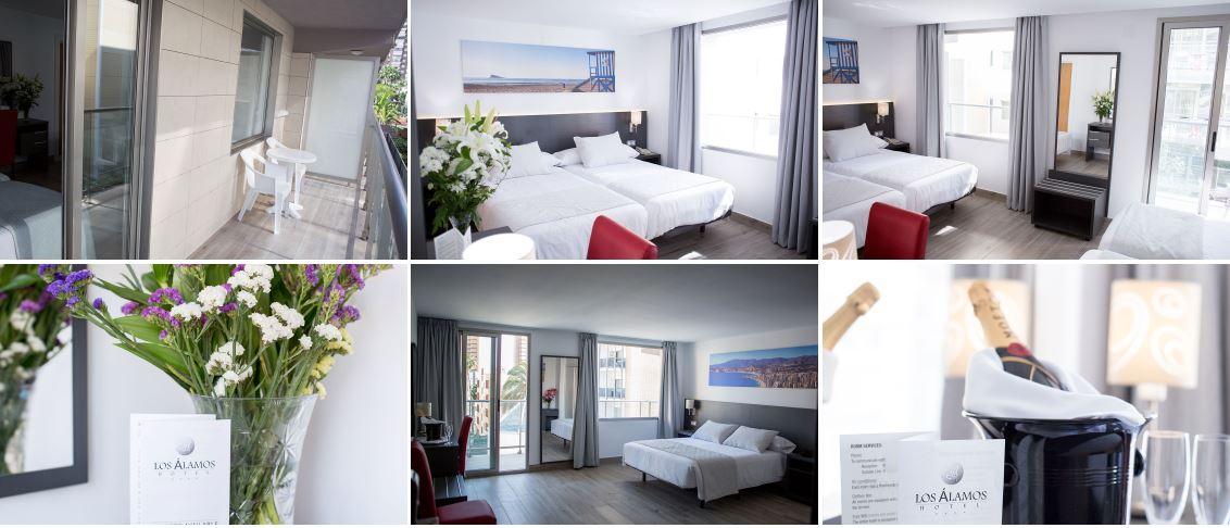 Hotel Los Alamos habitaciones Oferta fin de semana b2bviajes