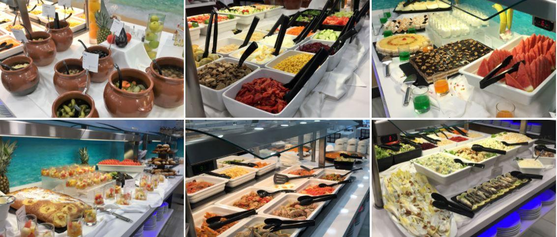 Hotel Los Alamos Gastronomía b2bviajes