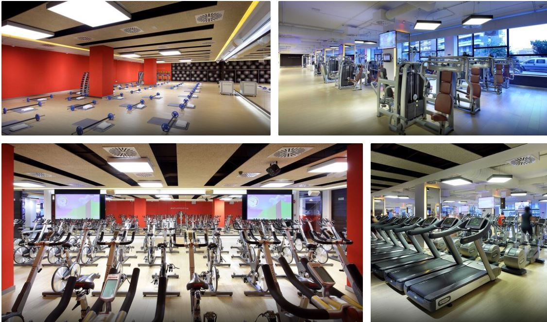 Gimnasio Hotel Occidental Bilbao