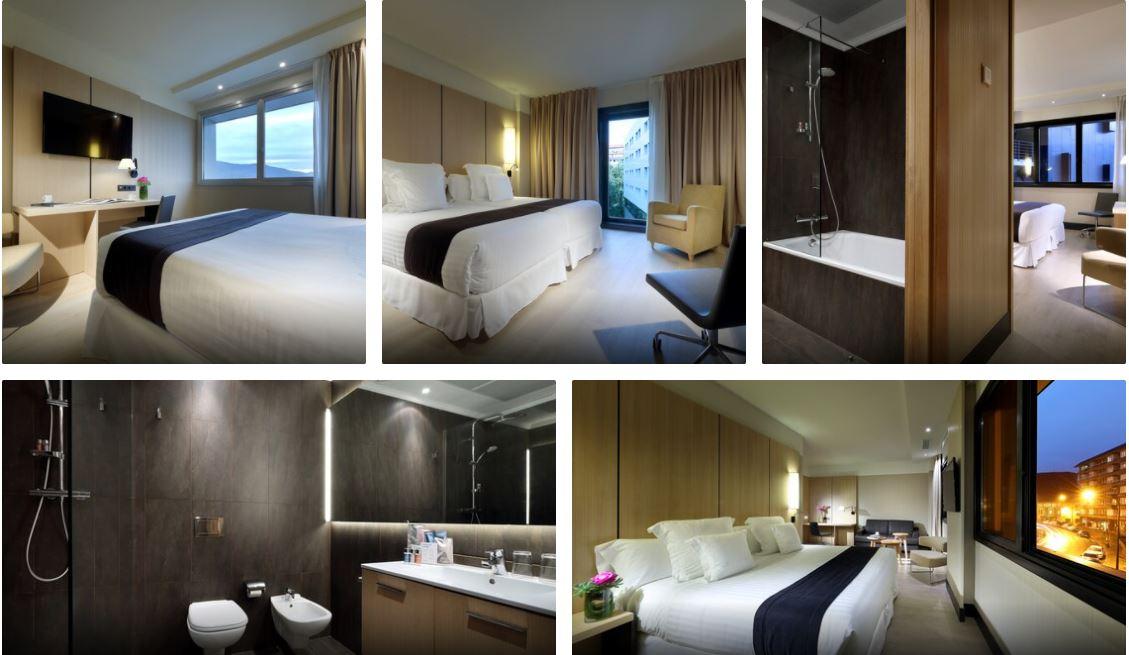 Habitaciones Dobles del Hotel Occidental Bilbao Oferta B2Bviajes
