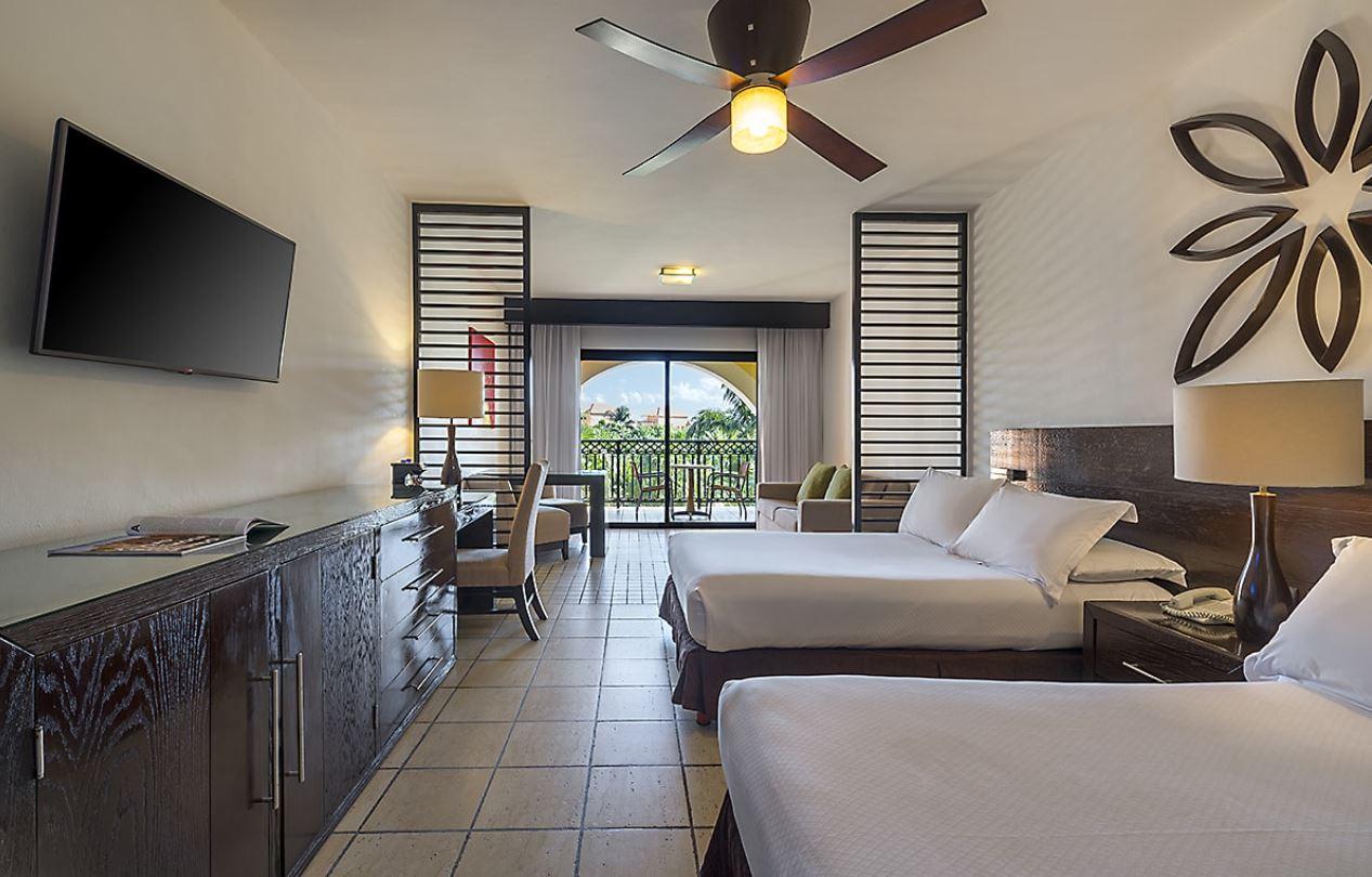Habitacion Doble del hotel Ocean Turquesa Riviera Maya Todo Incluido