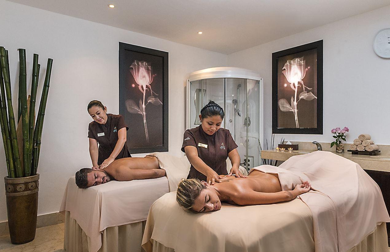 Servicios de masajes en hotel Ocean Turquesa en Riviera Maya