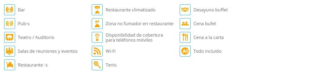 Instalaciones y Servicios del Hotel Ocean Coral Turquesa Puerto Morelos Todo Incluido en Riviera Maya