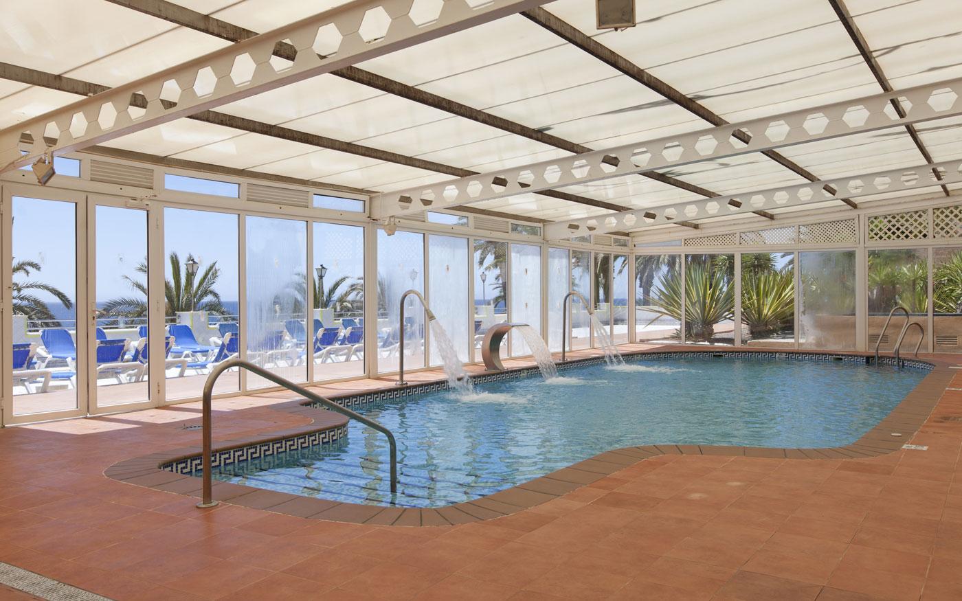 Piscina Cubierta Hotel Playadulce Aguadulce Almeria