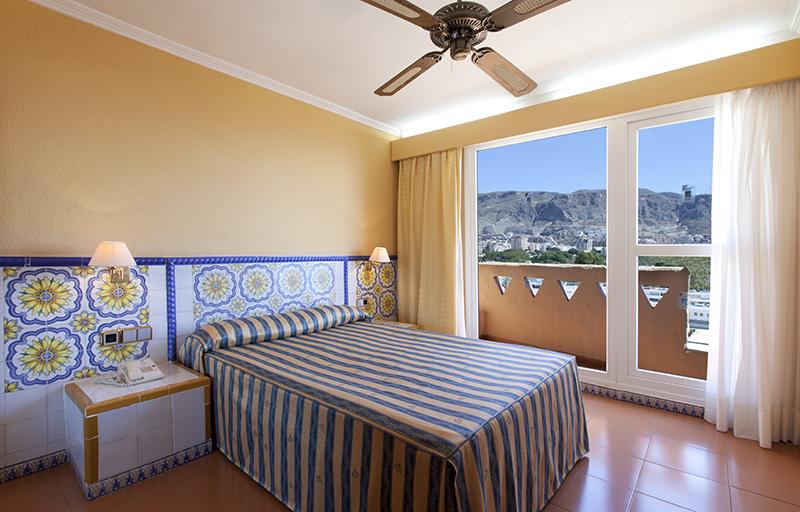 Habitacion Hotel Playadulce Almeria