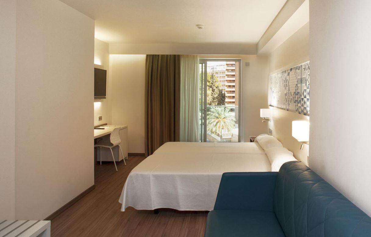 Habitaciones del hotel Port Benidorm oferta habitación Individual Vacaciones Singles