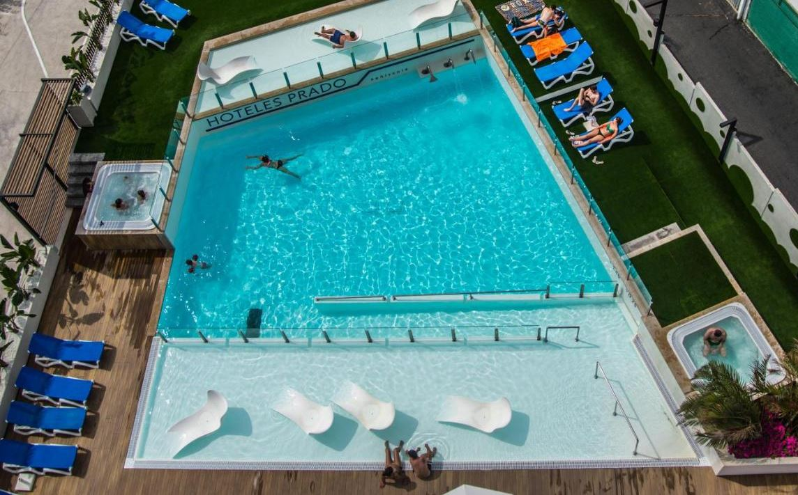 Hotel Prado II piscina