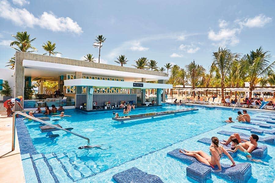 Hotel Riu Bambu Punta Cana Piscinas