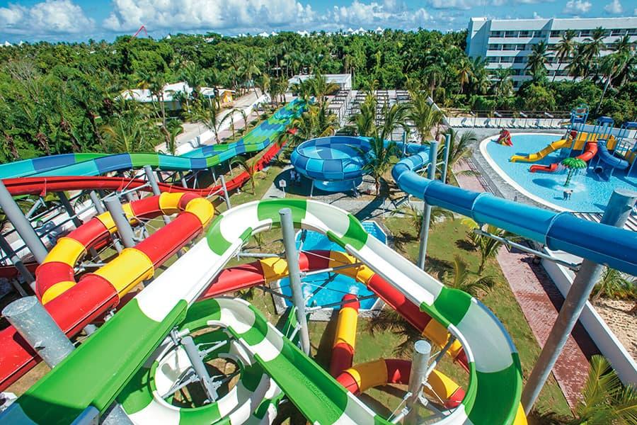 Toboganes Aquasplash Hotel Riu Bambu Punta Cana