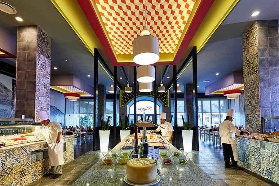 Buffet libre Hotel Riu Dunamar B2B Viajes