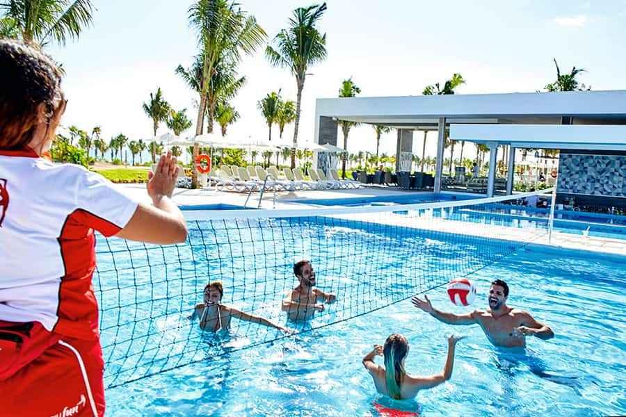 Voley agua Riu Dunamar Fitness B2Bviajes