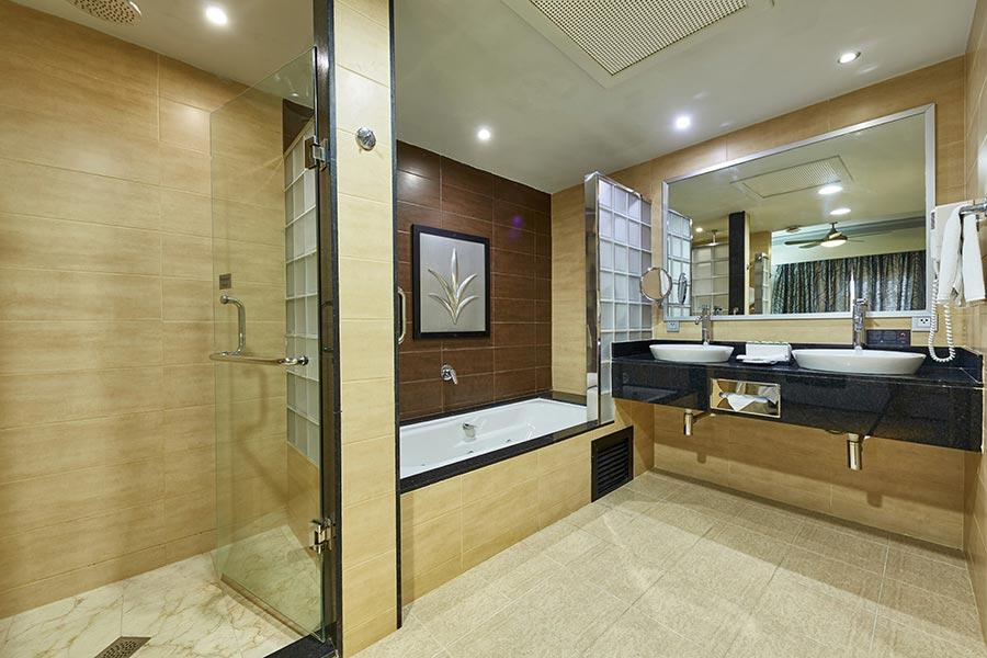 hotel riu palace macao punta cana baño habitacion