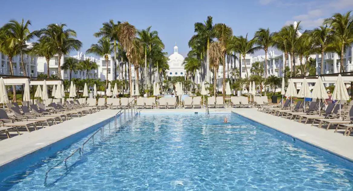 Hotel Riu Palace Riviera Maya Piscina Viajes para Singles