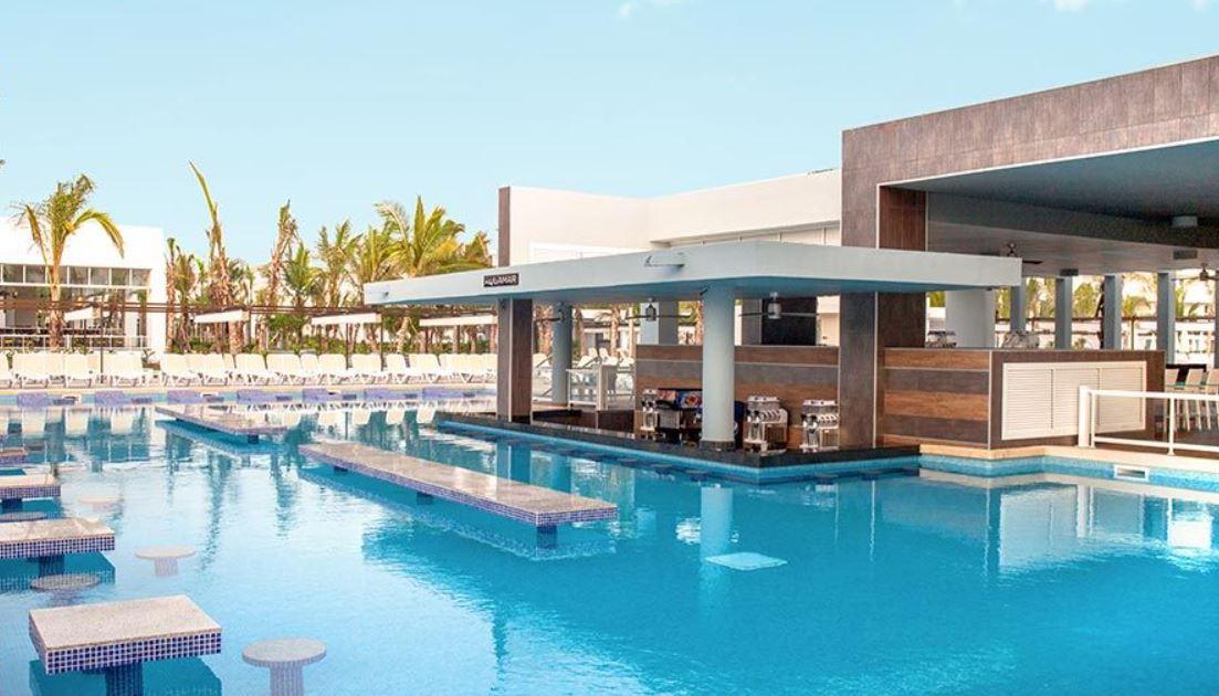 Hotel Riu Republica Punta Cana Solo Adultos Todo Incluido Bar Piscina