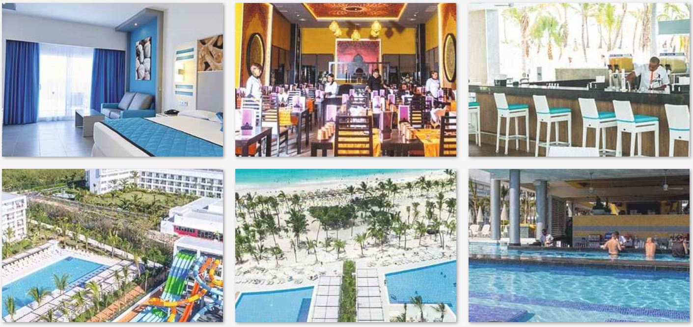 Hotel exclusivo adultos Riu Republica Punta Cana 5*