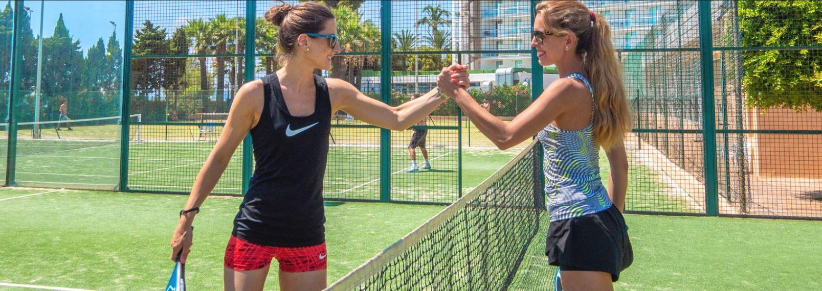 Instalaciones deportivas del hotel Sirenis Goleta Spa en Ibiza Hoteles para solteros