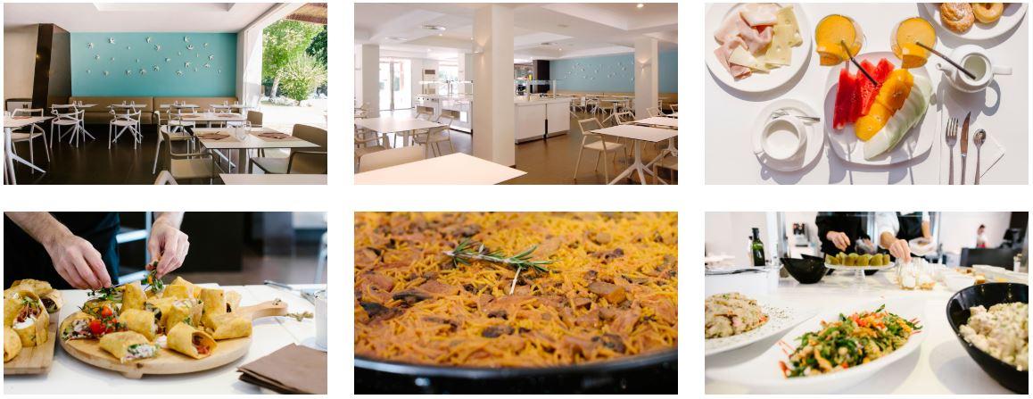 Restaurante Buffet Samaruc Hotel TU&ME Gandia