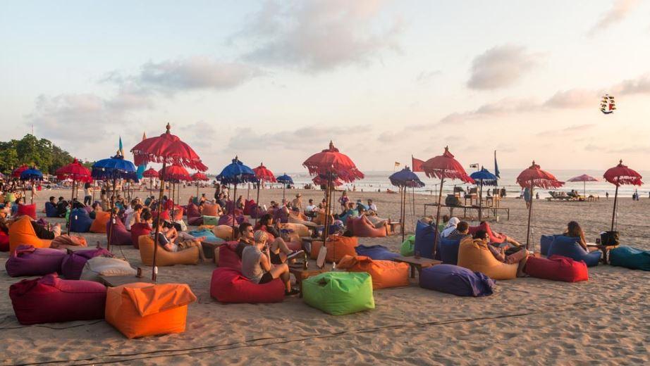 Playa de Seminyak en bali