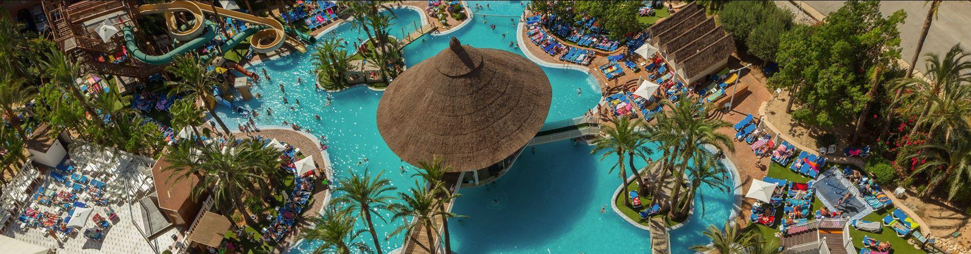 Magic Hotels Costa Blanca Areas Piscinas Todo Incluido