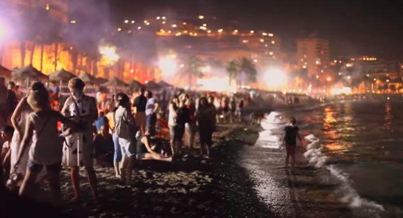Noche de San Juan Malagueta Oferta fin de semana b2b Viajes