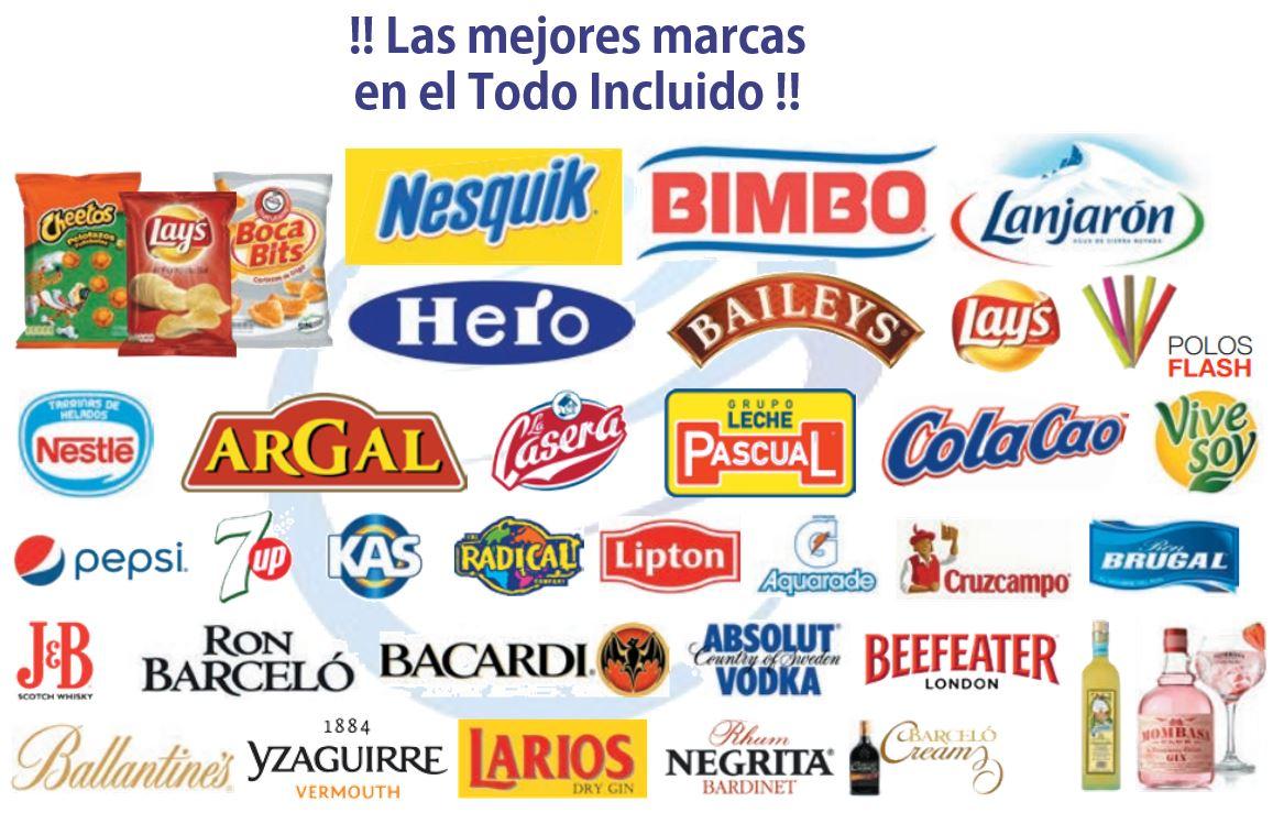 Marcas todo incluido Hote Playasol Playasenator Bebidas y aperitivos